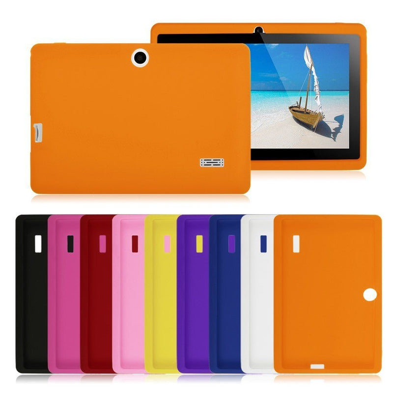"Silicone Back Cover Protective Case for 7"" Tablet PC - Assorted Colors - DailySale, Inc"