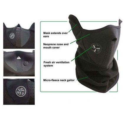 3-Pack: Neoprene Winter Ski Masks - DailySale, Inc