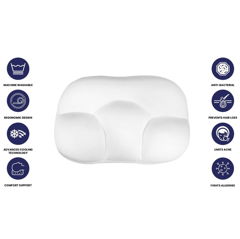 3D Super Soft Ultra Comfortable Cloud Pillow Bedding - DailySale