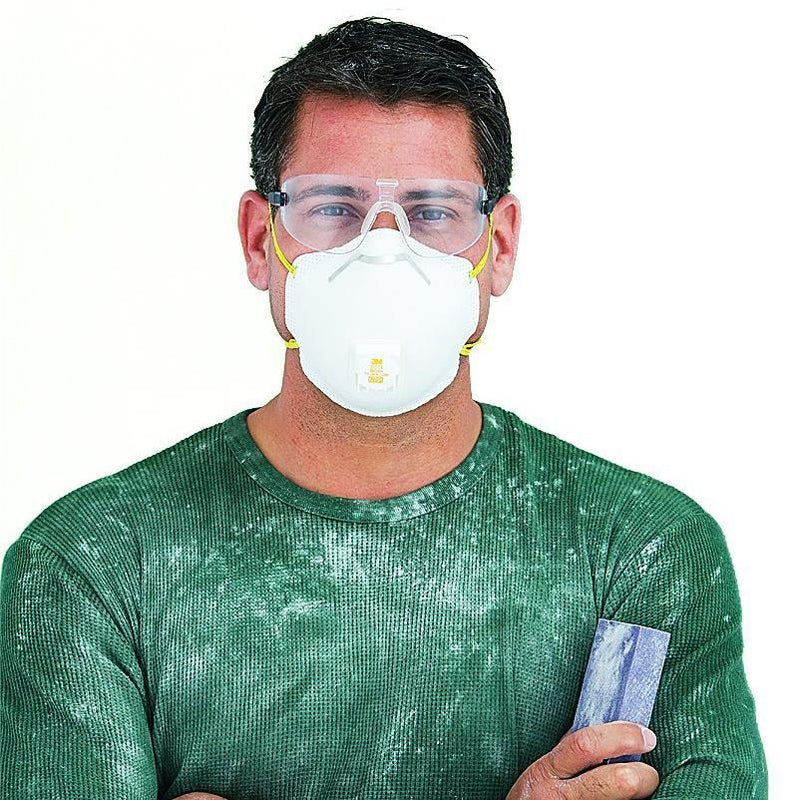 3M 8511 N95 Particulate Respirator with Valve Face Masks & PPE - DailySale
