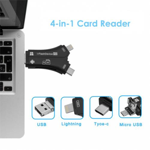 4-in-1 Media Transfer with Memory Card Computer Accessories - DailySale