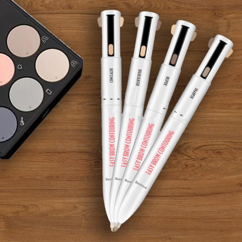 4-in-1 Waterproof Pro Rotating Eyebrow Contouring Pencil Beauty & Personal Care - DailySale