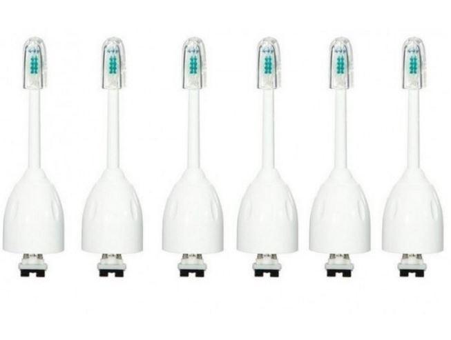 4 or 6-Pack: Replacement e-Series-Compatible Toothbrush Heads Beauty & Personal Care 6 Pack - DailySale