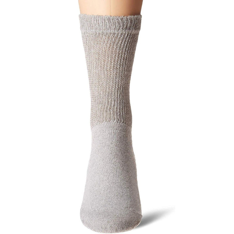 4-Pack: Comfortable Non-Binding Diabetic Crew Socks Women's Apparel - DailySale