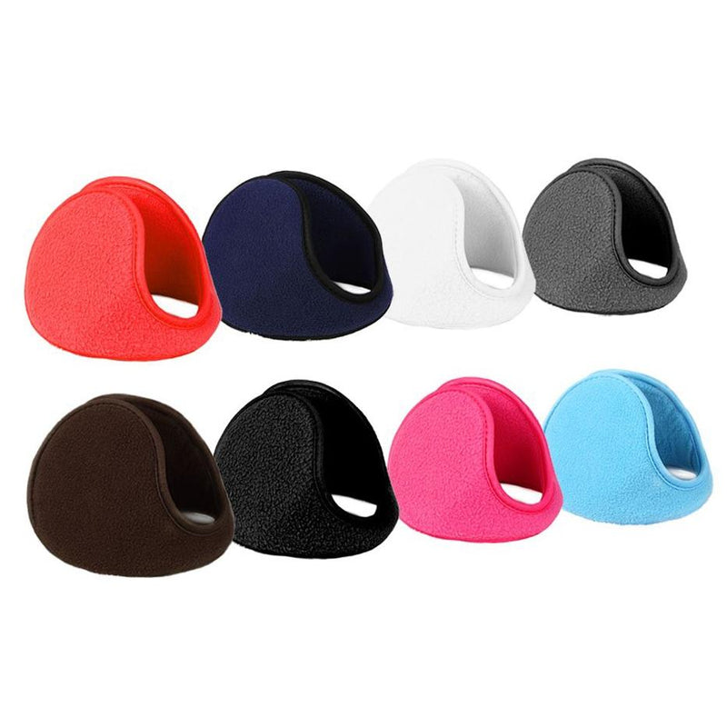 4-Pack: Foldable, Soft and Warm Fleece Earmuffs Men's Apparel - DailySale