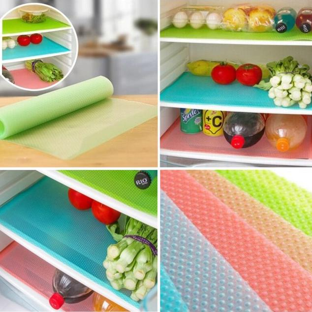 4-Pack: Refrigerator Mats Kitchen & Dining - DailySale