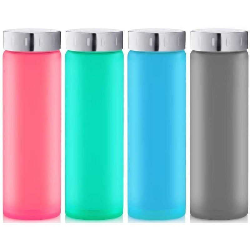 4-Pack: Swig Savvy Multi-Purpose Real Borosilicate Glass Bottles Sports & Outdoors - DailySale