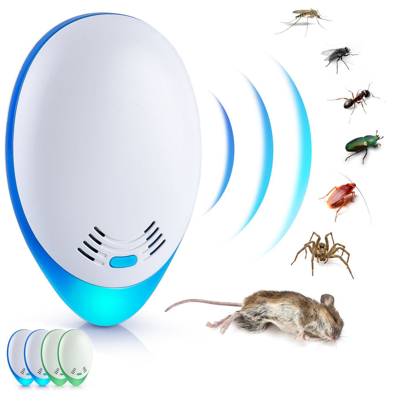 4-Pack: Ultrasonic Pest Repeller Garden & Patio - DailySale