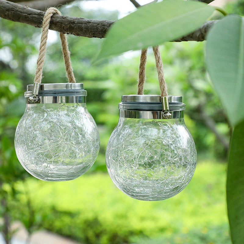 4-Pack: Waterproof Solar Powered Mason Jar Fairy Lights Outdoor Lighting - DailySale