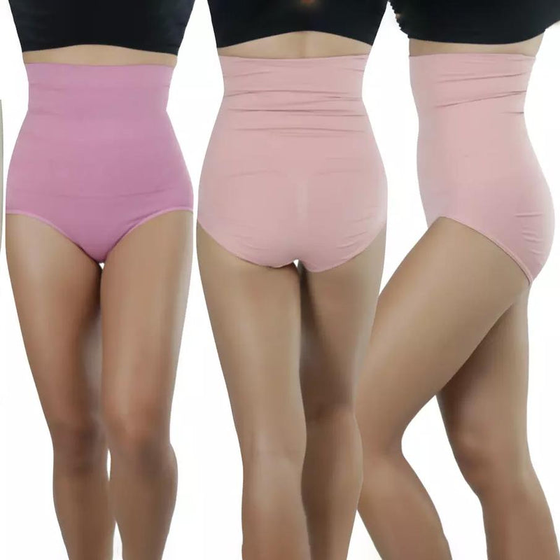 4-Pack: Women's Shaping High-Waisted Compression Briefs Women's Clothing - DailySale