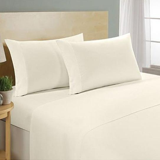 4-Piece Set: Ultra Soft 1800 Series Bamboo Blend Sheets Bedding Twin Beige - DailySale