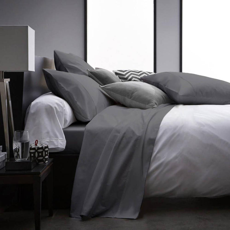 4-Piece Set: Ultra Soft 1800 Series Bamboo Blend Sheets Bedding Twin Gray - DailySale