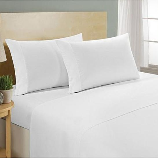 4-Piece Set: Ultra Soft 1800 Series Bamboo Blend Sheets Bedding Twin White - DailySale