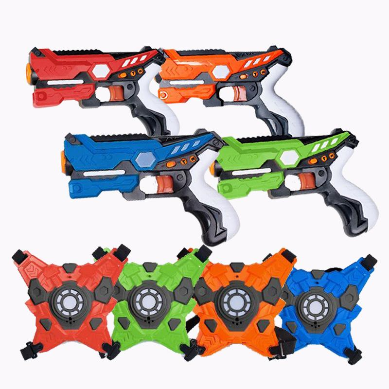 4 Player Laser Tag Set Toys & Hobbies - DailySale