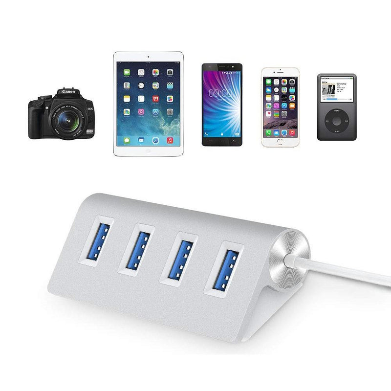 4 Port USB 3.0 5Gbps Expansions Hub Splitter Gadgets & Accessories - DailySale