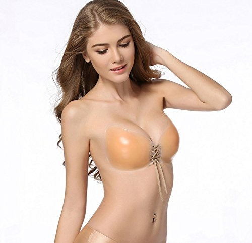 Reusable Butterfly Silicone Push-Up Bra - Assorted Sizes - DailySale, Inc