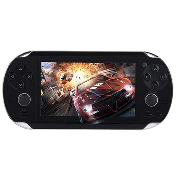 4.3 inch Game Console 3000 Games Built-in Video Camera Retro Video Games & Consoles Black - DailySale