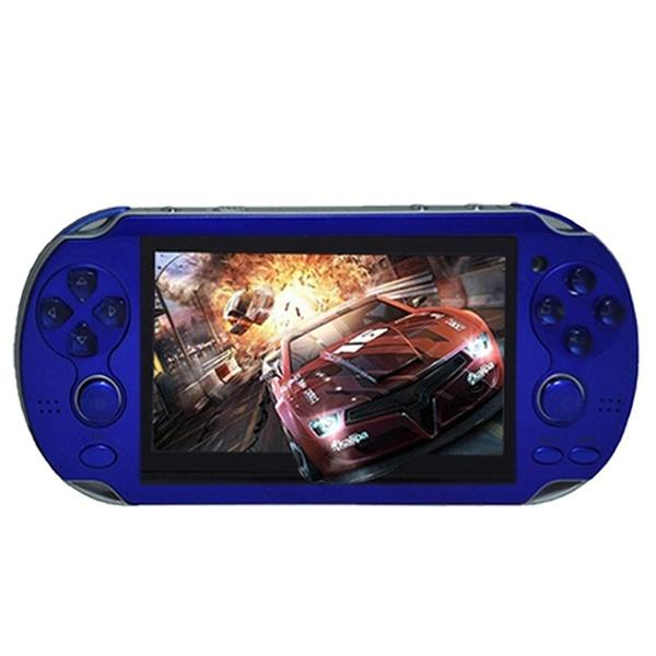 4.3 inch Game Console 3000 Games Built-in Video Camera Retro Video Games & Consoles Blue - DailySale