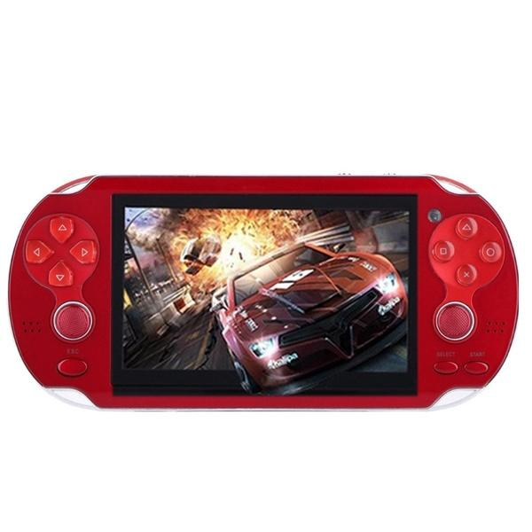 4.3 inch Game Console 3000 Games Built-in Video Camera Retro Video Games & Consoles Red - DailySale