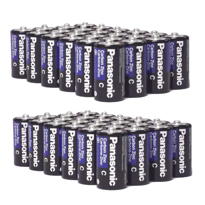 48-Pack: Panasonic Super Heavy Duty C Batteries Gadgets & Accessories - DailySale