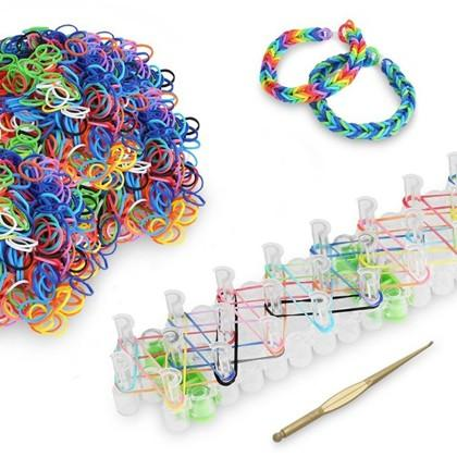 5009-Piece Set: Loom Bandz Plus Board Sticks and Connectors Toys & Games - DailySale