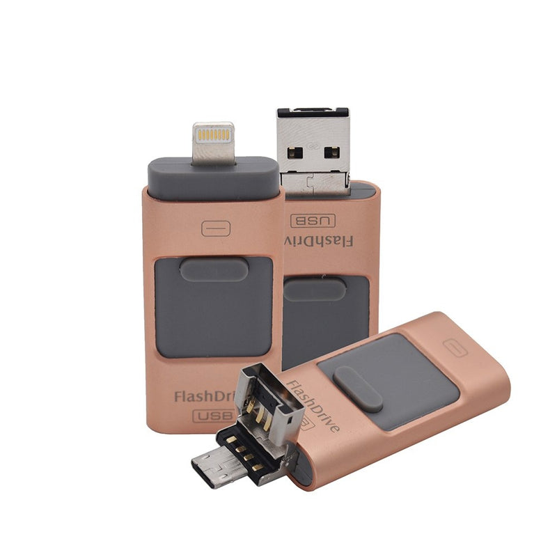 iFlash USB Drive for iPhone, iPad & Android - Assorted Colors and Sizes - DailySale, Inc