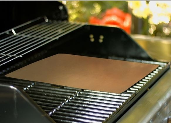 2-Pack: Copper-Infused Grill and Bake Mat - DailySale, Inc