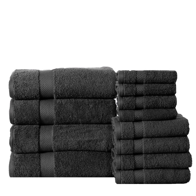 6-Pack: 100% Cotton Towel Set - Assorted Colors Home Essentials - DailySale