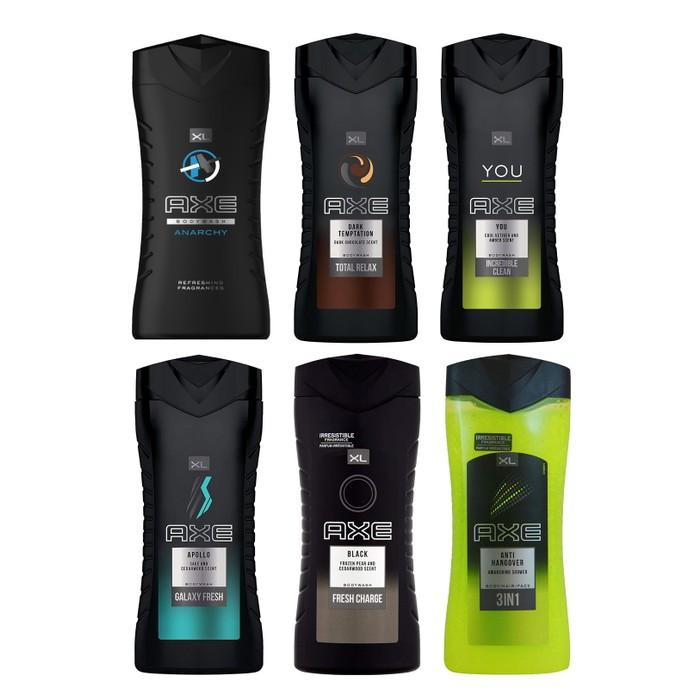 6-Pack: Axe Shower Gel Body Wash 400ml - Assorted Scents Beauty & Personal Care - DailySale