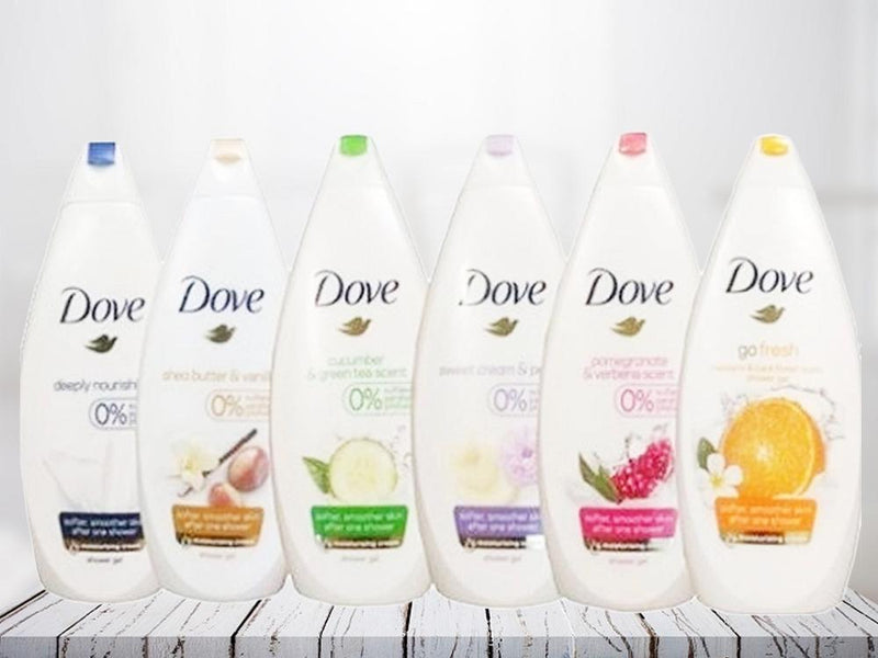 6-Pack Dove Body Wash Shower Gel Beauty & Personal Care - DailySale