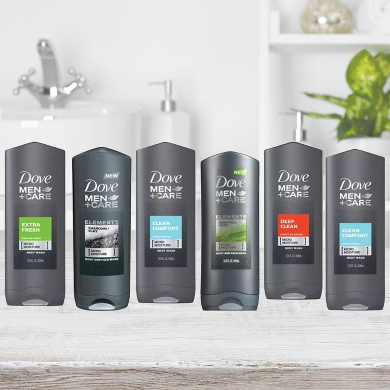 6-Pack Dove Men Shower Gel 400ml (Assorted Scents) Beauty & Personal Care - DailySale