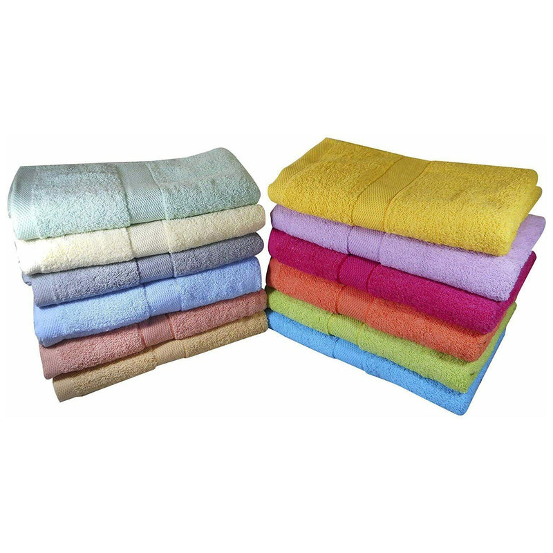 6-Pack: Imperial Luxury Bath Towel Set - Multi Color Bed & Bath - DailySale