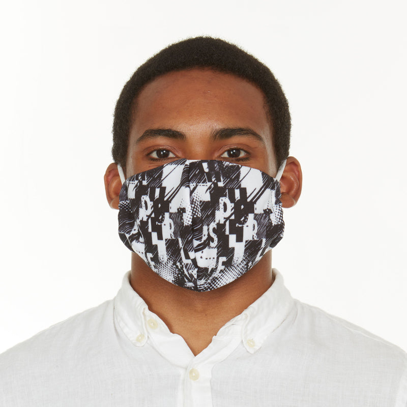 6-Pack: Men's Reusable Machine Washable Masks Mystery (3 Solid + 3 Prints) Wellness & Fitness - DailySale