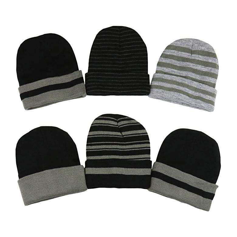 6-Pack: Men's Soft Stretchy Beanies Men's Accessories - DailySale