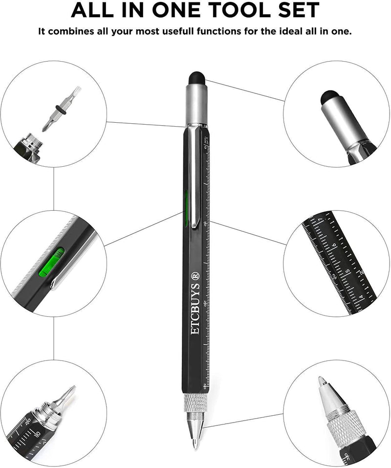 6-Pack: Multi-Tool Screwdriver Pen Pocket Phones & Accessories - DailySale