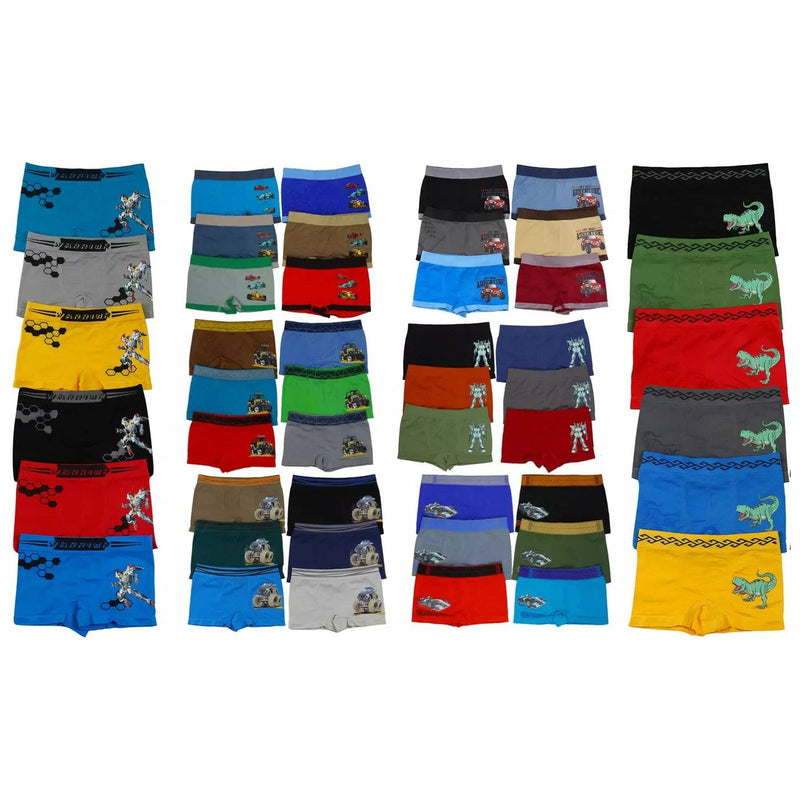 6-Pack: Mystery Boys' Microfiber Assorted Briefs Men's Clothing S - DailySale