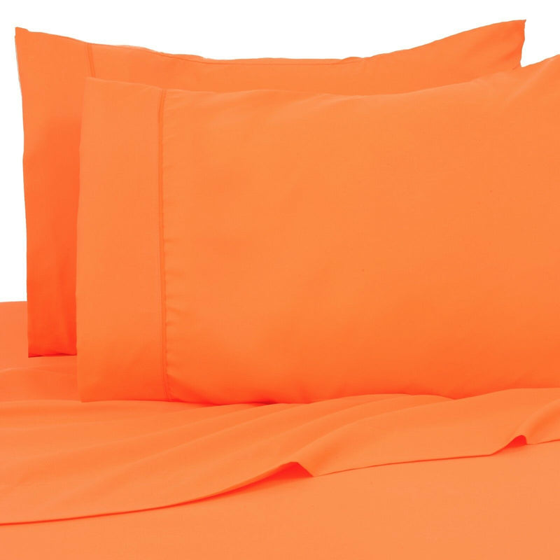 6-Pack: Premier Colorful Soft Super Bright Deep Pocket & Hypoallergenic Bedding Twin/Twin XL Bright Orange - DailySale