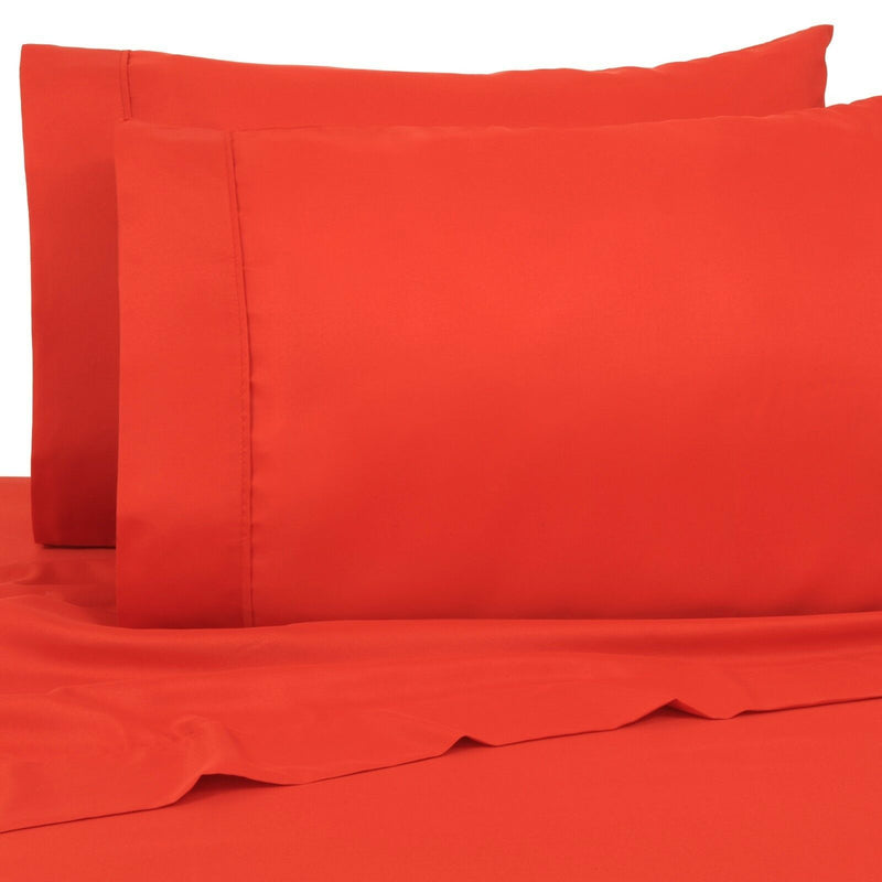 6-Pack: Premier Colorful Soft Super Bright Deep Pocket & Hypoallergenic Bedding Twin/Twin XL Bright Red - DailySale