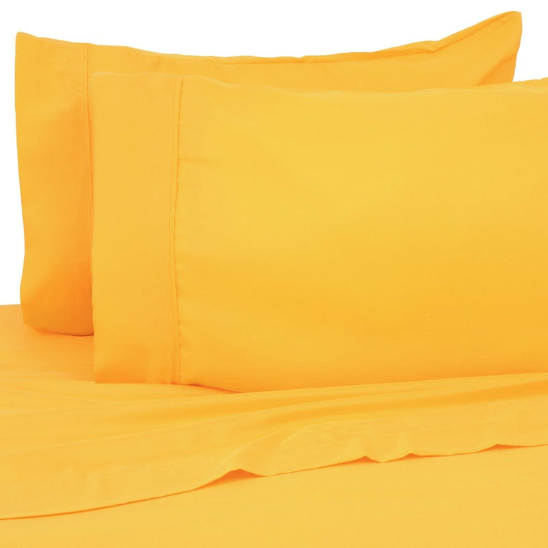 6-Pack: Premier Colorful Soft Super Bright Deep Pocket & Hypoallergenic Bedding Twin/Twin XL Bright Yellow - DailySale