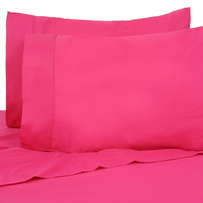 6-Pack: Premier Colorful Soft Super Bright Deep Pocket & Hypoallergenic Bedding Twin/Twin XL Hot Pink - DailySale