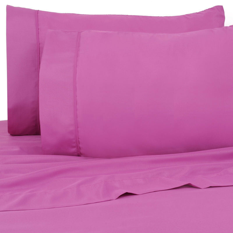 6-Pack: Premier Colorful Soft Super Bright Deep Pocket & Hypoallergenic Bedding Twin/Twin XL Hot Purple - DailySale