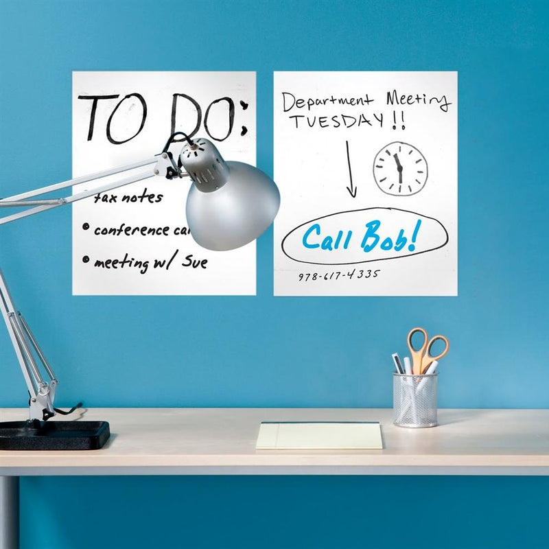 6-Pack: Removable Dry Erase Sheets with Marker Home Essentials - DailySale