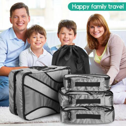 6-Pack: Travel Suitcase Storage Bag Set Bags & Travel - DailySale