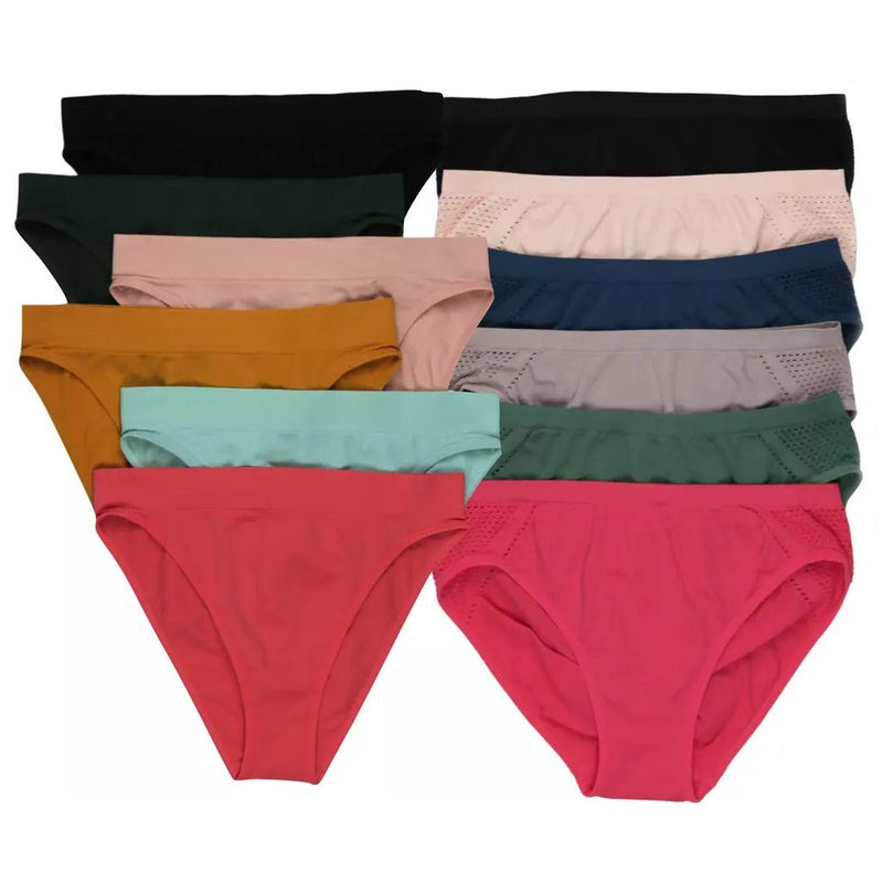 6-Pack: Women's Seamless Stretch Panties Women's Clothing - DailySale