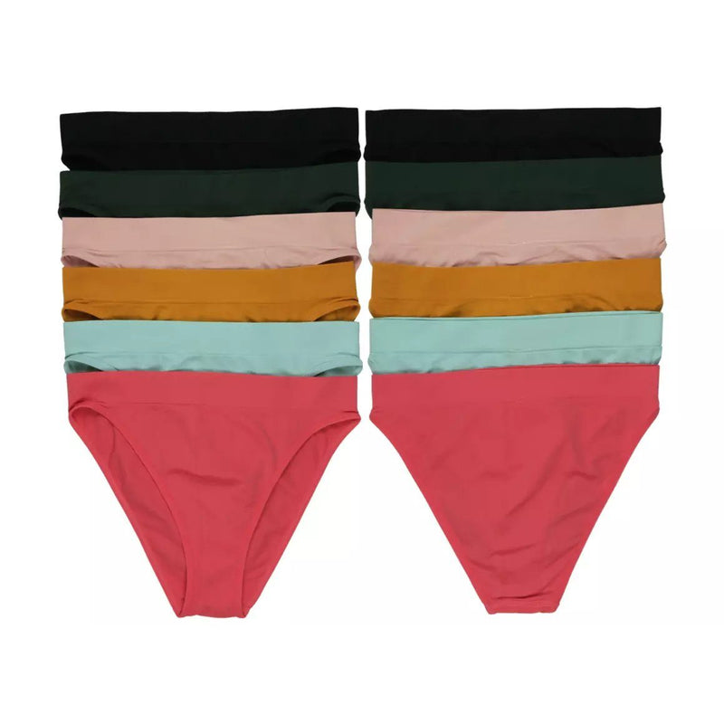 6-Pack: Women's Seamless Stretch Panties