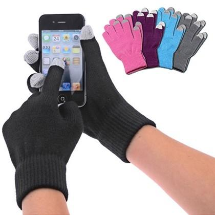 6-Pair: Smartphone Touchscreen Gloves in Pink Women's Apparel - DailySale