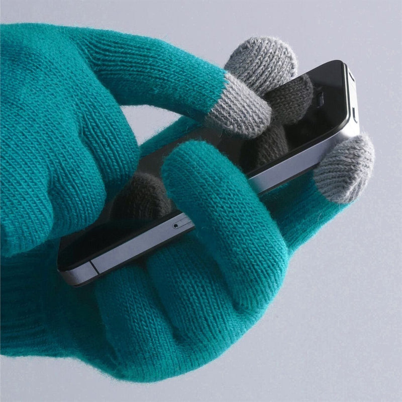 6 Pairs: Unisex Touchscreen Ultra-Soft & Comfy Gloves - Assorted Colors Women's Apparel - DailySale