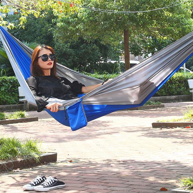 6-Piece: 2-Person Portable Hammock Set Sports & Outdoors - DailySale