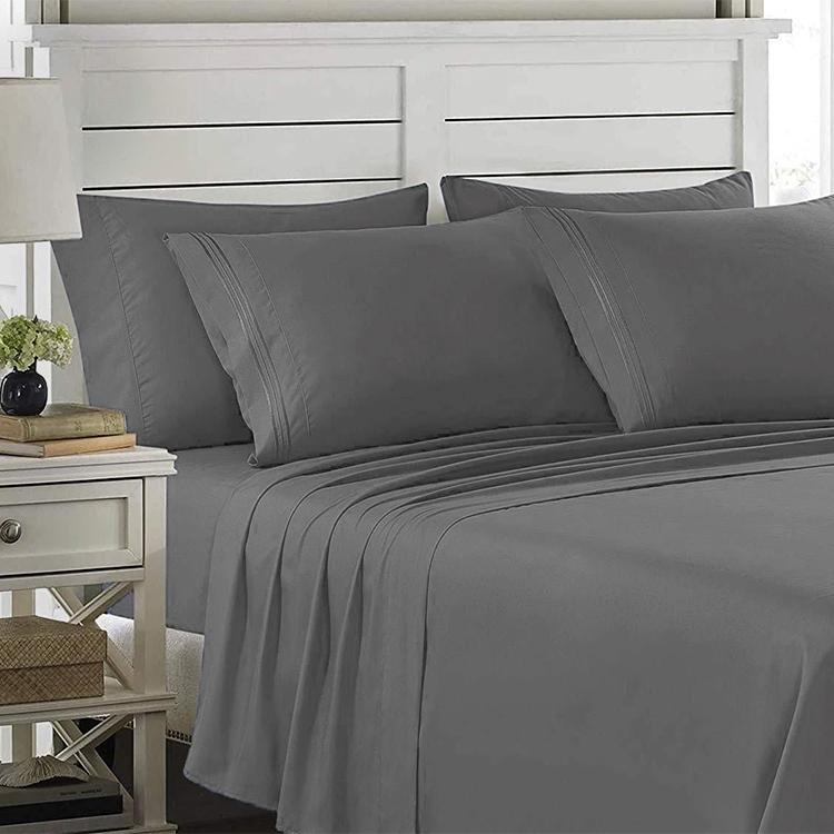 6-Piece: Lux Decor Collection 1800 Series Sheets Set Linen & Bedding - DailySale