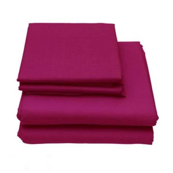 6-Piece Set: Egyptian Comfort 1600 Count Deep Pocket Bed Sheets Bed & Bath Twin Burgundy - DailySale